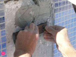 stitching of cracks