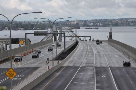 Evergreen Point Floating Bridge, Seattle, U.S.A